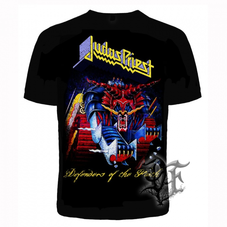 Футболка Judas Priest defenders of the faith