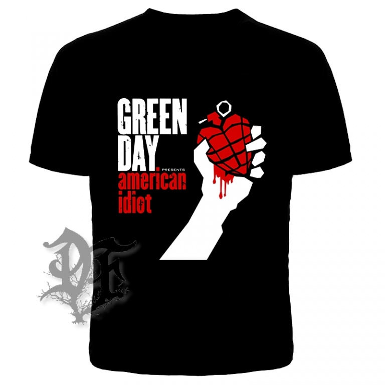 Футболка Green day amerikan idiot