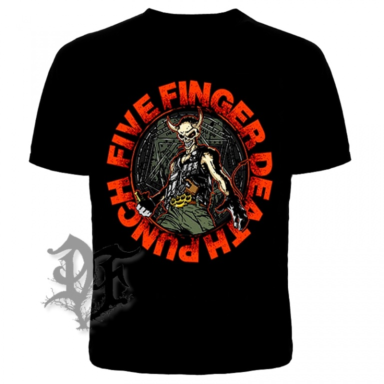 Футболка Five finger death punch череп