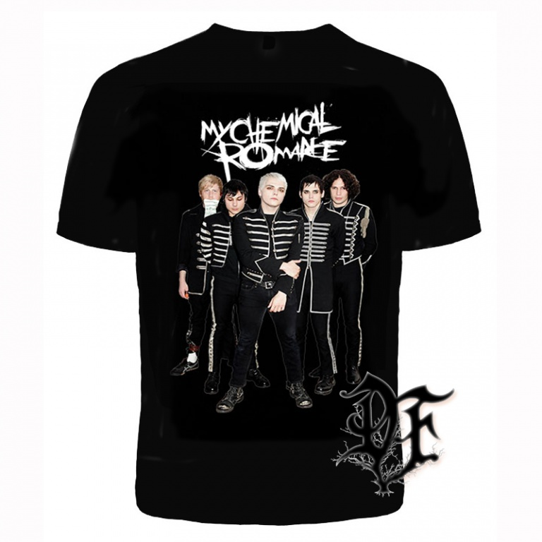 Футболка My chemical romance группа