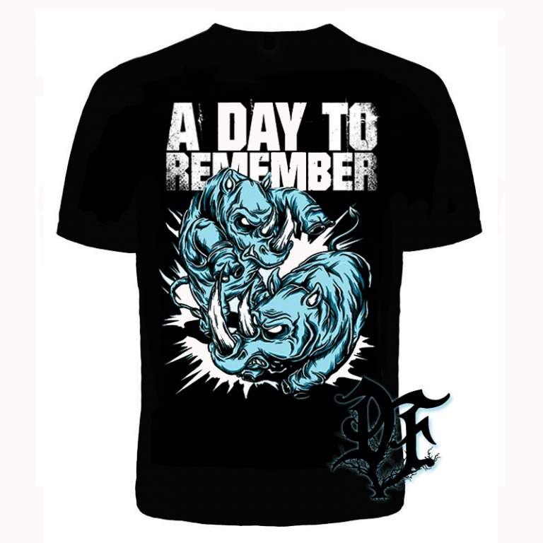 Футболка A DAY TO REMEMBER насороги