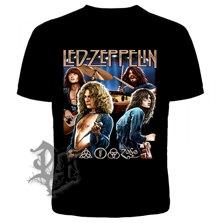 Футболка Led zeppelin группа