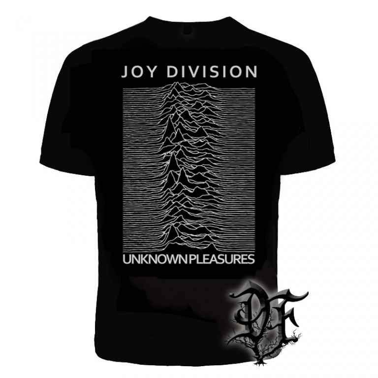 Футболка Joy Division unknown pleasures