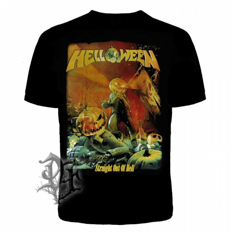 Футболка Helloween Straight Out of Hell