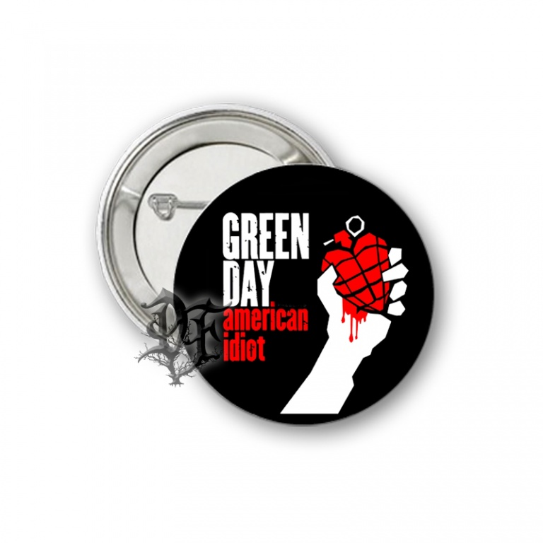 Значок Green Day American Idiot