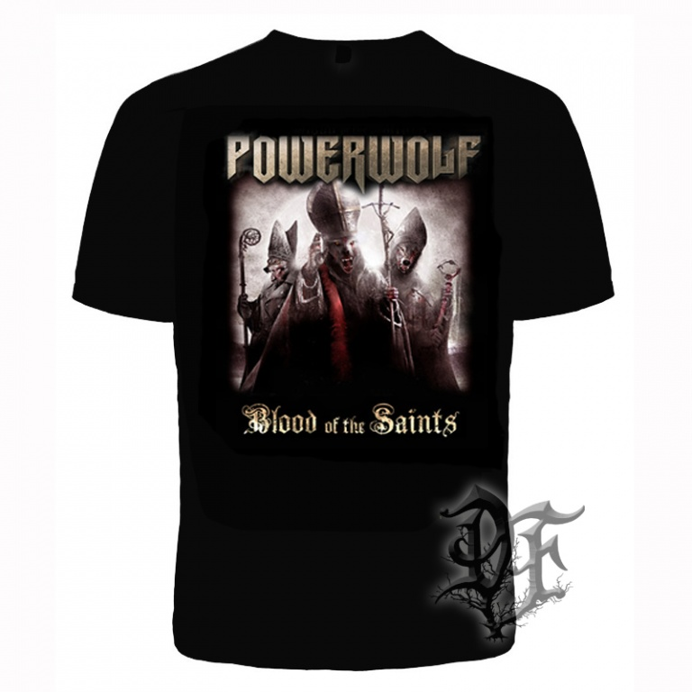 Футболка Powerwolf альбом