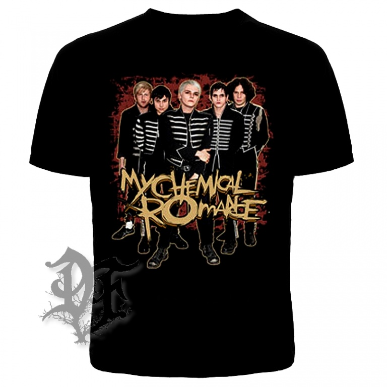 Футболка My chemical romance команда