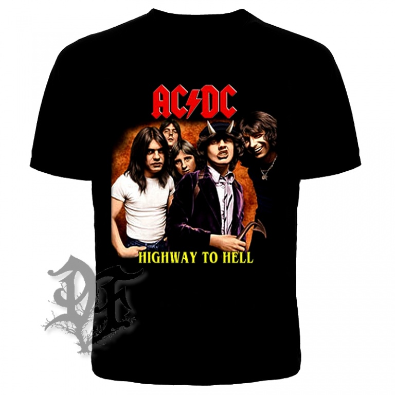 Футболка AC/DC Highway to Hell