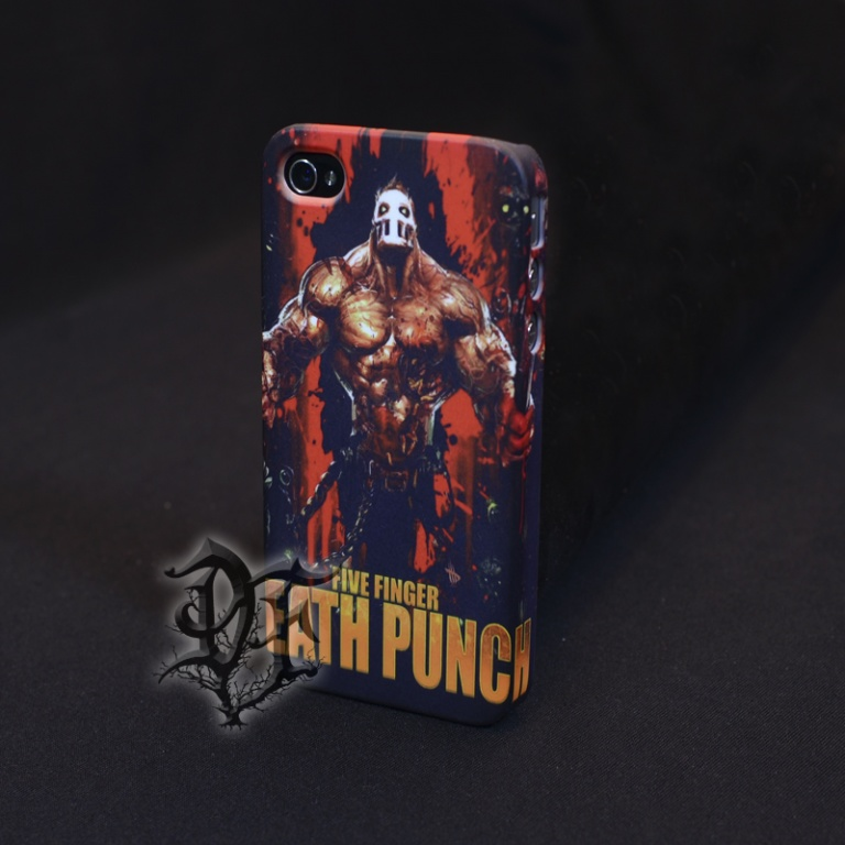 Чехол для  iPhone 5 Five Finger Death Punch альбом