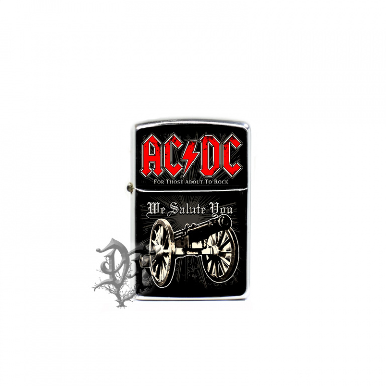 Зажигалка AC/DC For Those About to Rock