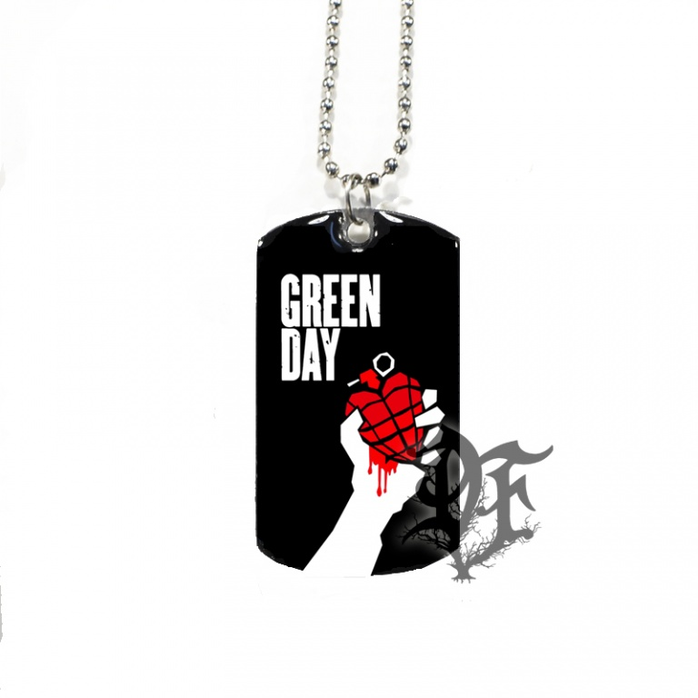 Жетон Green Day american idiot