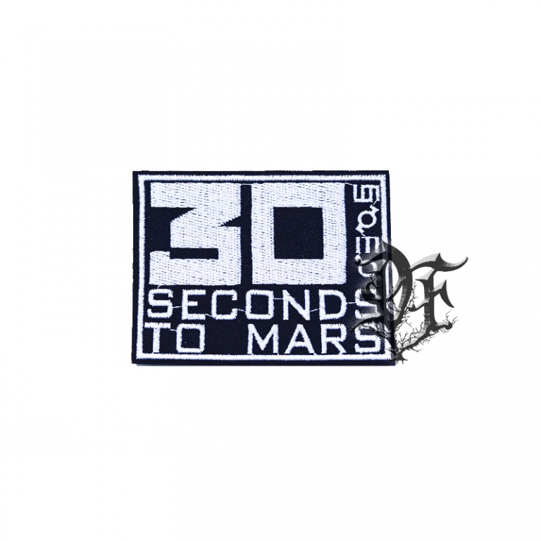 Нашивка 30 seconds to Mars