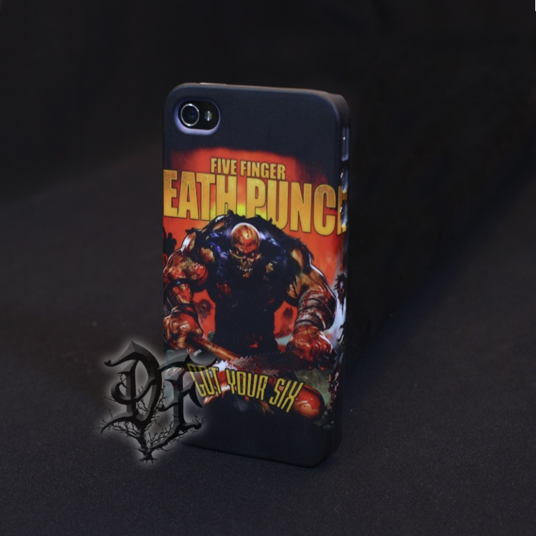 Чехол для  iPhone 5 Five Finger Death Punch