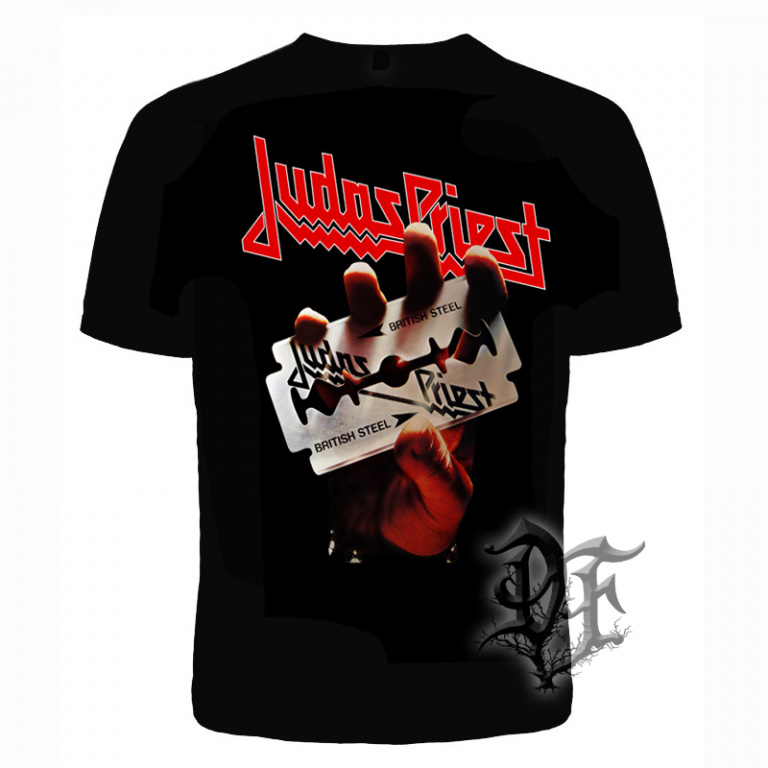 Футболка Judas Priest British Steel 1