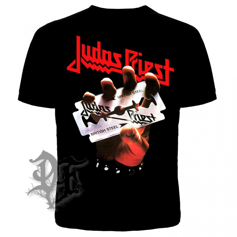 Футболка Judas priest British Steel