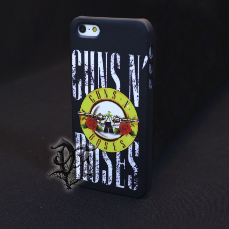 Чехол для iphone 5 Guns n Roses