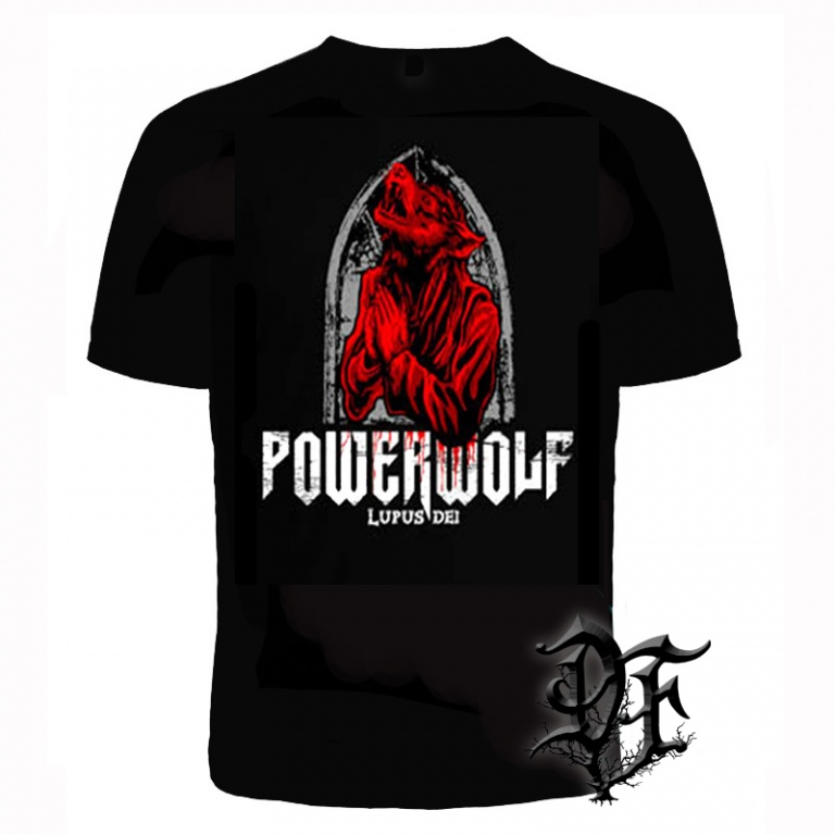 Футболка Powerwolf lupus del