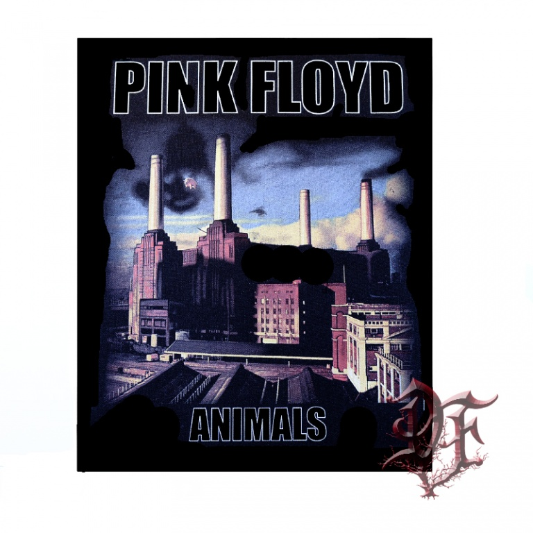 Нашивка на спину Pink Floyd animals