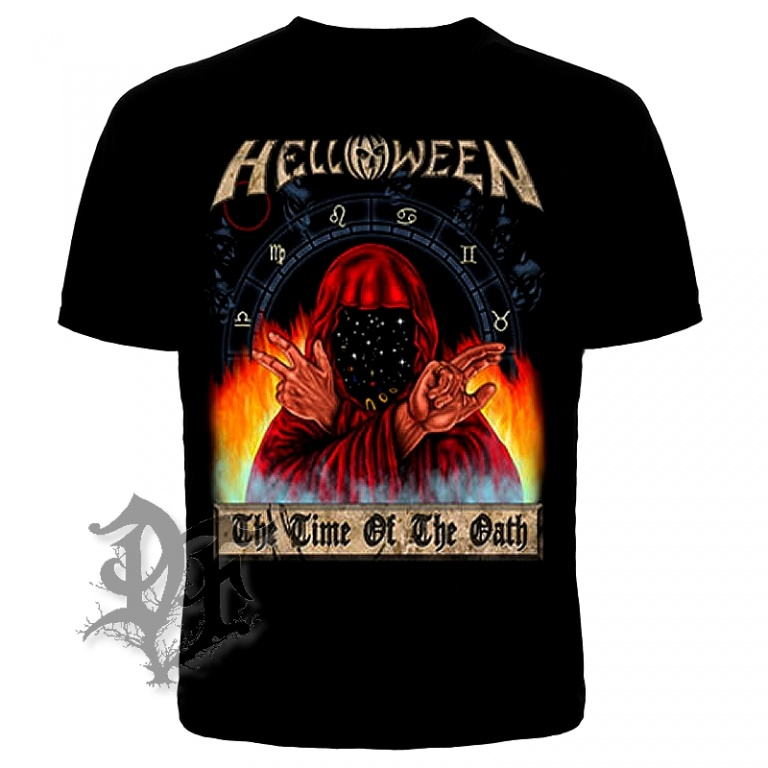 Футболка Helloween The Time of the Oath