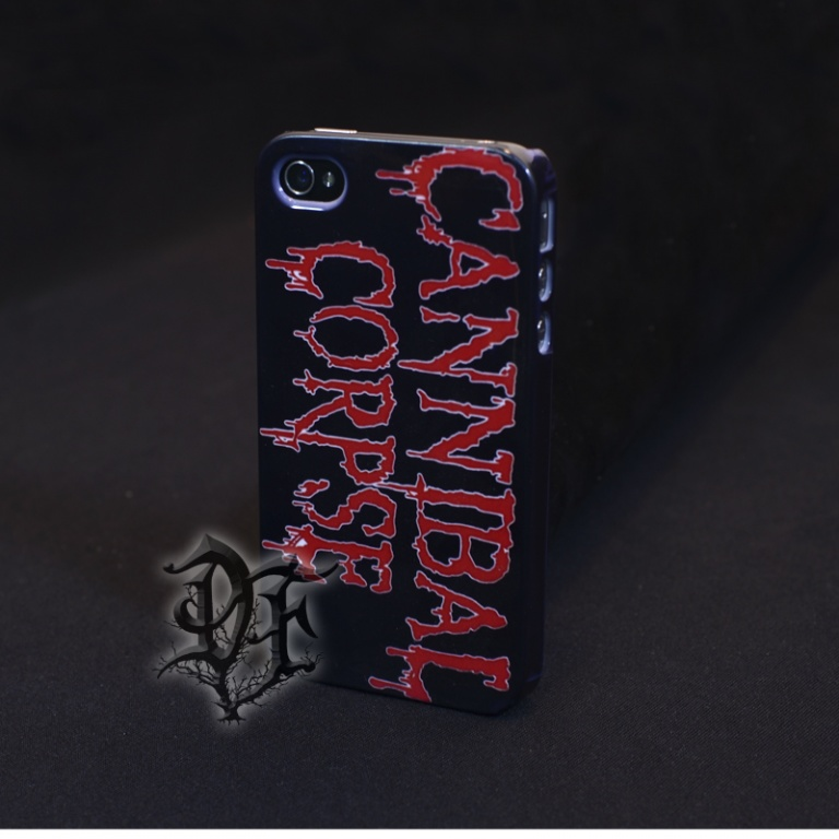 Чехол для iPhone 4 Cannibal corpse
