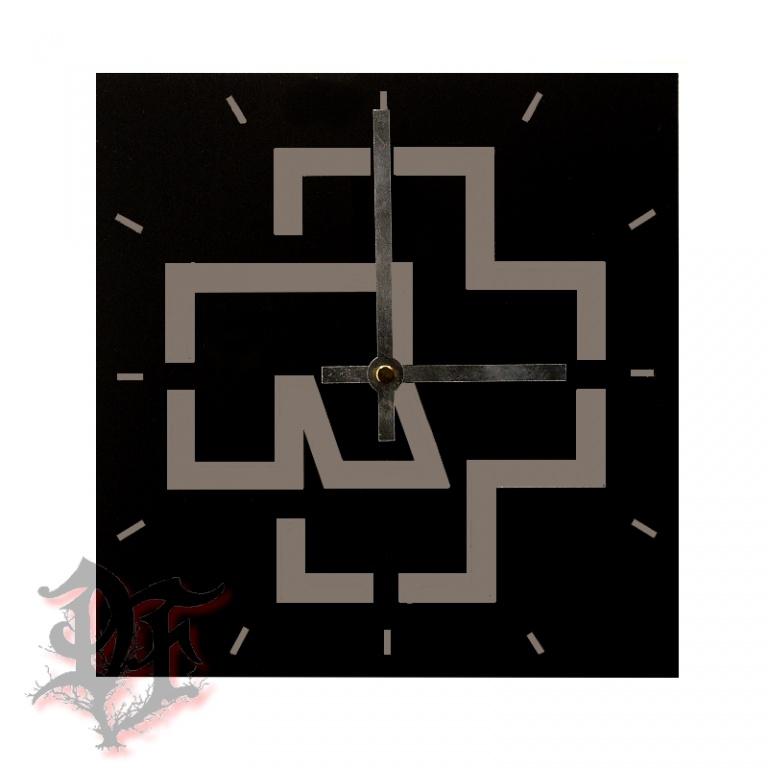 Часы с картинкой рамштайн