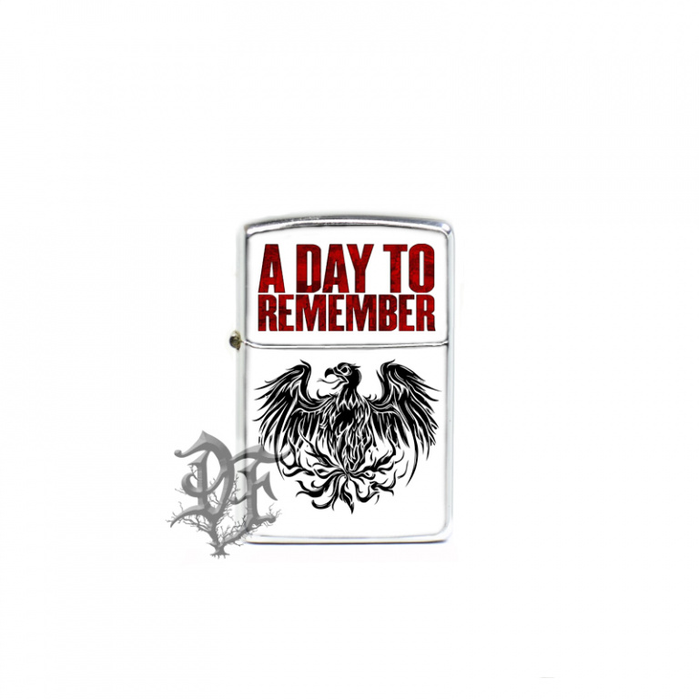 Зажигалка A DAY TO REMEMBER с логотипом