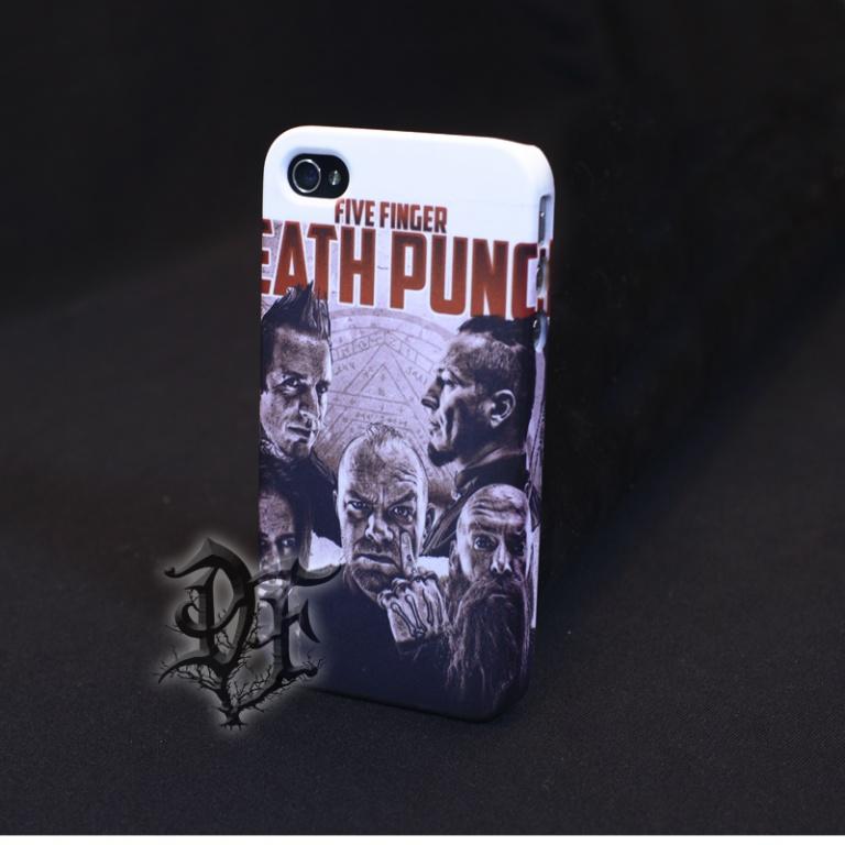 Чехол для  iPhone 5 Five Finger Death Punch группа