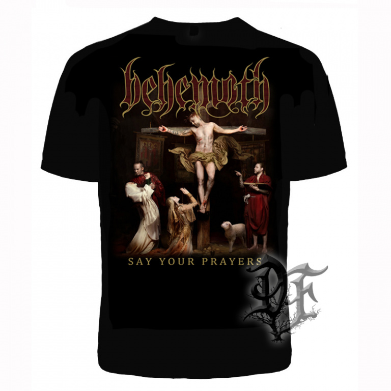 Футболка Behemoth say your prayers