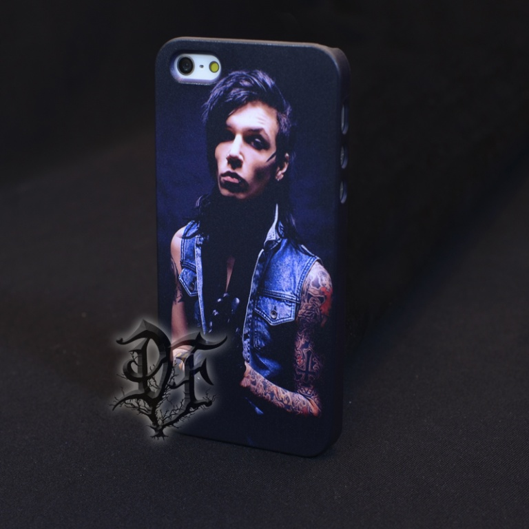 Чехол для  iPhone 5 Andy Biersack